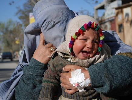 תינוקת אפגנית (צילום:  Lizette Potgieter | shutterstock)